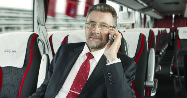 VIP seats in Eurolines bus. Travel to Riga, Tallinn, Warsaw in VIP seats, international bus tickets