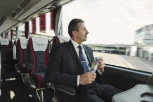 Free bottle of water for each passenger Eurolines