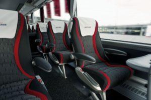 Comfortbale VIP seats