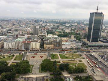 Varšuva autobusu Eurolines Business Class